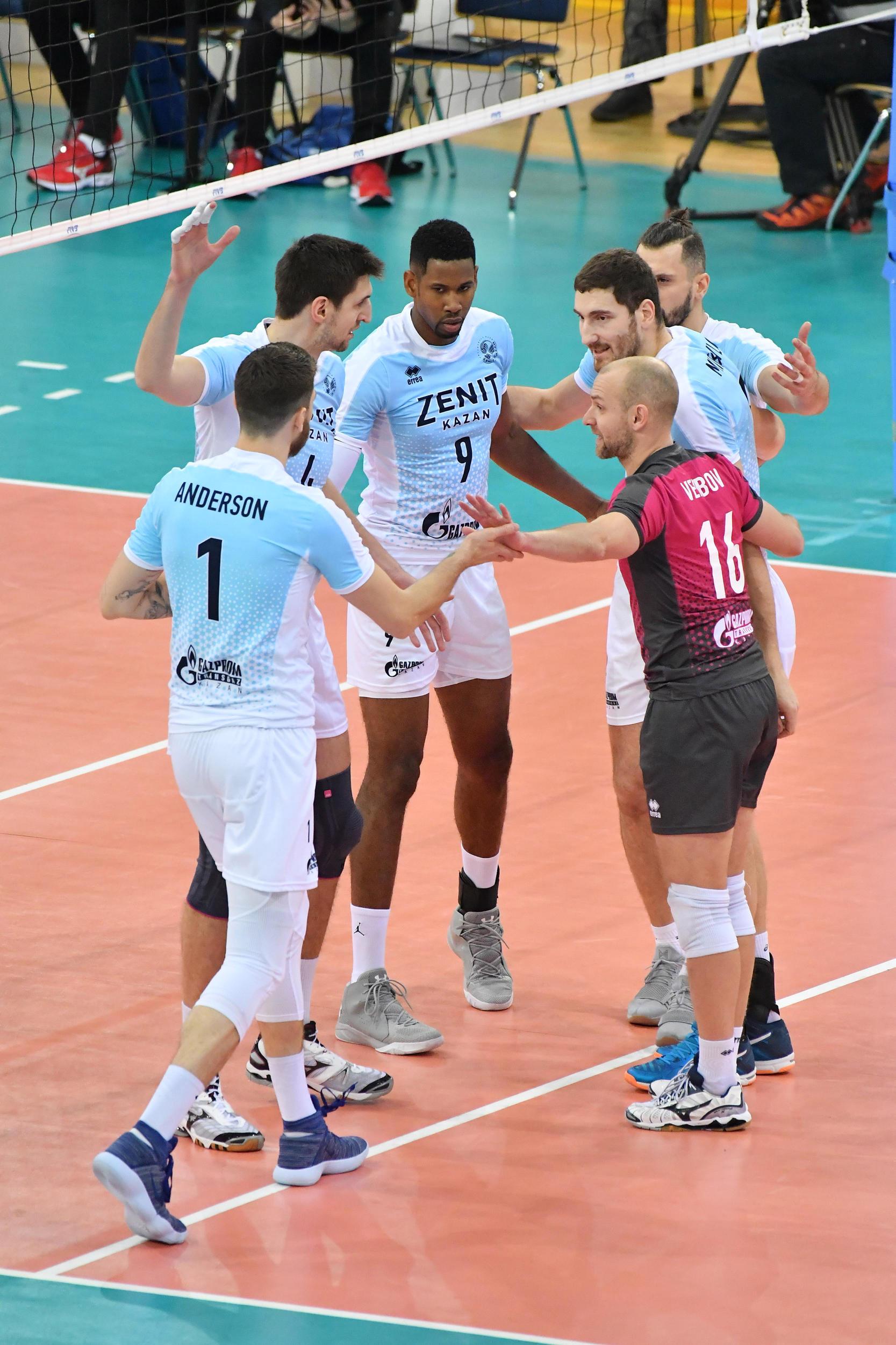 Post Match Zenit Kazan Bolivar Fivb Volleyball Men S Club World Championship 2017